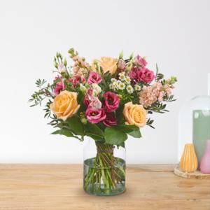 Boeket-Suus-Middel-www.fleuranthus.nl-Online-bloemen-kopen-Online-bloemen-bestellen-Enschede-Bloemenwinkel-in-Boekelo