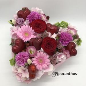 Bloemenhart Pink Love