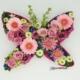 Bloemenvlinder Pink in the Sky