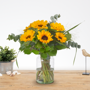 Boeket-friendship-zonnebloemen-middel-www.fleuranthus.nl