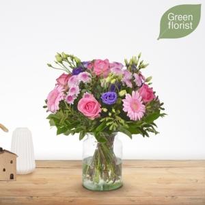 Green-florist-boeket-loes-middel-www.fleuranthus.nl