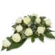 Rouwstuk White Rose
