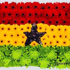 Vlag van bloemen