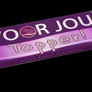 Voor Jou Chocolade Topper